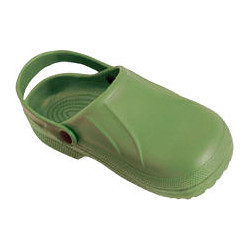 Zoccoli In Eva Colore Verde...