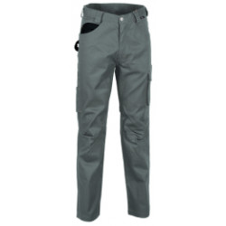 Pantaloni Drill Colore...