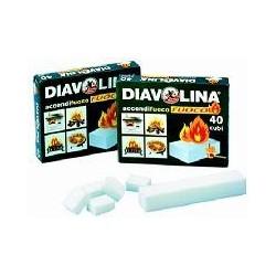 Accendifuoco Diavolina 80 Cubi
