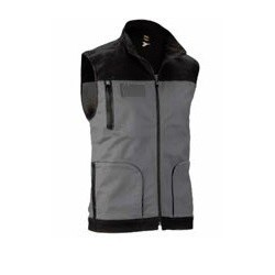 Gilet Stretch Grigio Winter...